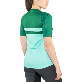 Bontrager Rhythm Tech Tee Women miami/british racing green